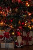 Christmas tree lights — ストック写真