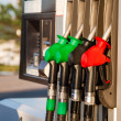 Fuel pumps at petrol station — Stock Photo #51155735