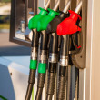 Fuel pumps at petrol station — Stock Photo #51156691