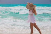 Perfekter Urlaub - Relax in caribbean sea — Stock Photo