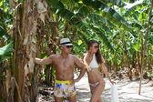 Vacation couple — Stock Photo