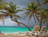 Tropical holidays, luxury resort on the beach — Stock Photo