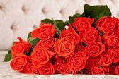 Grande mazzo di rose — Foto Stock