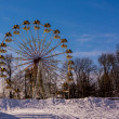 Ferris wheel in Tver — Stock Photo