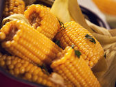 Cooked corn — Stock Photo