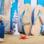 Summer Beach Scene — Stock Photo #47783769