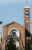 Church of San Gaudenzo, Rimini, Emilia Romagna, Italy — Stock Photo