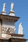 Detail of the cathedral of Urbino, Marche, Italy — Stock Photo