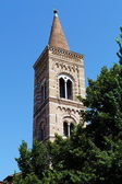 Bell tower in the center of Urbino, Marche, Italy — Foto de Stock
