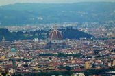 View of Florence from Settignano — Stock Photo