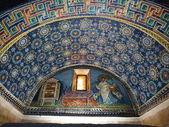 Mosaic in the Mausoleum of Santa Placidia in Ravenna, Italy — Stock Photo