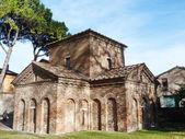 Mausoleum of Santa Placidia in Ravenna, Italy — Stock Photo