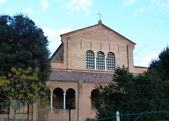Basilica of Sant'Apollinare in Classe, Ravenna, Romagna, Italy — Stockfoto