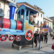 Viareggio carnival, Italy — Stock Photo