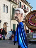 Viareggio carnival — Stock Photo