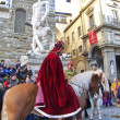 Cavalcade of the Magi, Florence, Italy — Stock Photo
