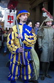 Cavalcade of the Magi, Florence, Italy — Foto Stock