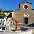 Stock Photo: Sant'Agostino square, Prato, Tuscany, Italy