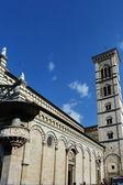 Glockenturm der kathedrale von prato, toskana, italien — Stockfoto