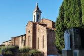 St. Francis church, Prato, Tuscany, Italy — Stockfoto