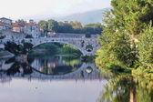 Mercatale Brücke, Prato, Toskana, Italien — Stockfoto