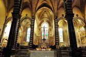 Innere der kathedrale von prato, toskana, italien — Stockfoto