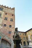 Fontein van bacchino, prato, Toscane, Italië — Stockfoto
