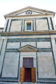 St. francis kirche, prato, toskana, italien — Stockfoto