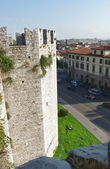 Emperors castle, Prato, Tuscany, Italy — Stock Photo