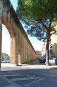 древние стены прато, тоскана, италия — Стоковое фото