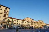 Mercatale square, Prato, Tuscany, Italy — Foto Stock