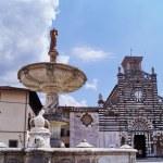 Piazza del Duomo, Prato, Tuscany, Italy — Stock Photo
