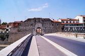 Gate of Mercatale, Prato, Tuscany, Italy — Photo