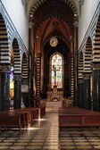 Interior of the Cathedral of Prato, Tuscany, Italy — Stock Photo