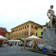 Garibaldi square, Sarzana, Liguria, Italy — Stock Photo #36238919