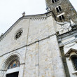 Italy, Sarzana, the facade of the cathedral — Stock Photo