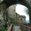 Fortress of Sarzanella, Liguria, Italy — Stock Photo