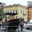 Lerici main square, Liguria, Italy — Stock Photo