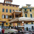 Lerici main square, Liguria, Italy — Stock Photo #36239319