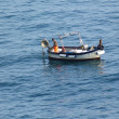 Boat in the Gulf of Poets, Liguria, Italy — Stock Photo