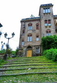 Typical palace of Sarzana, Liguria, Italy — Stock Photo