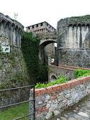 Fortress of Sarzanella, Liguria, Italy — Stockfoto