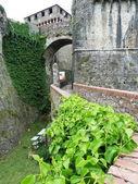 Fortress of Sarzanella, Liguria, Italy — Stock fotografie