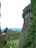 Fortress of Sarzanella, Liguria, Italy — Stock Photo