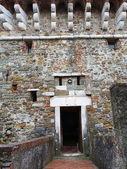 Крепость sarzanella, Лигурия, Италия — Стоковое фото