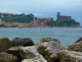 View of Lerici, Liguria, Italy — Stock Photo
