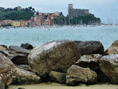 View of Lerici, Liguria, Italy — Stock Photo