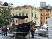 Lerici main square, Liguria, Italy — Stock Photo