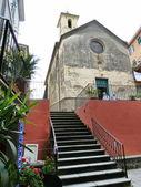 Church of Corniglia, Cinque Terre, Liguria, Italy — Stock Photo