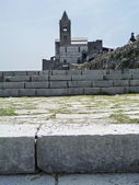 Italy, Portovenere, church of San Pietro — Stock Photo